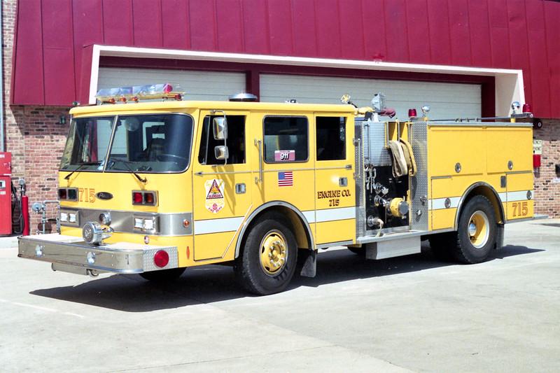 GLENSIDE  ENGINE 715  1981 PIERCE ARROW  (O)   1250-750   #E-1216