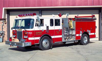 GLENSIDE  ENGINE 701  1990 PIERCEE LANCE  1500-750   #E-5398   REPAINTED