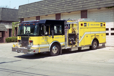 HINSDALE FD  ENGINE 1011  1997  SPARTAN - 3D   1250-750-15A-40B   #2807