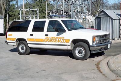 HINSDALE FD  CAR 1081  1999  CHEVY SUBURBAN  1500  4X4