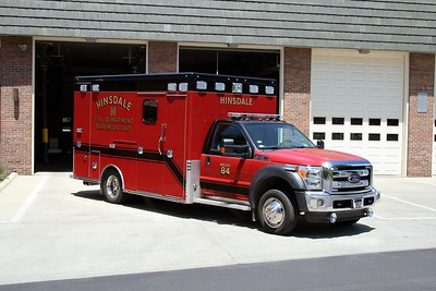 HINSDALE FD  MEDIC 84  2013  FORD F450 - MARQUE