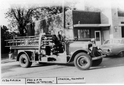 ITASCA ENGINE  1930 PIRSCH