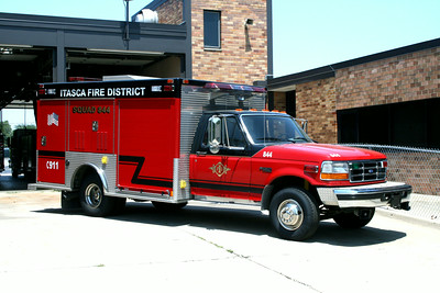 ITASCA SQUAD 844  FORD F -