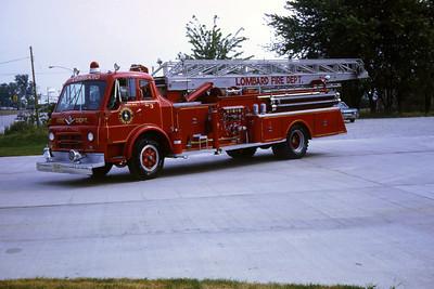 LOMBARD FD  TRUCK 53  1961 IHC-DARLEY-GROVE  1000-0-65'  SOLD TO ROCKTON FPD,IL