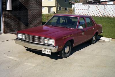 CAR F4  1978 FORD FAIRMONT  FIRE PREVENTION