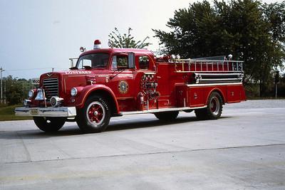 ENGINE 44  1959 IHC V190 - DARLEY  1000 - 0
