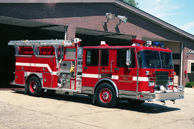 ENGINE 43  1991 SPARTAN GLADIATOR - E-ONE  1500 - 750   OFFICERS SIDE