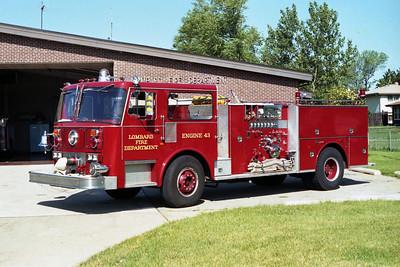 ENGINE 43  1980  SEAGRAVE1250 - 500