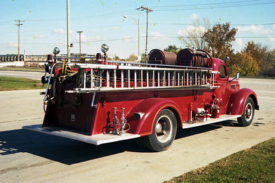 ENGINE 41  1948 IHC REAR VIEW