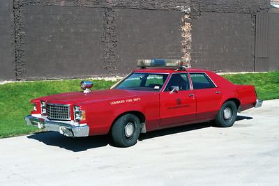 CAR F3  1977 FORD LTD II  FIRE PREVENTION