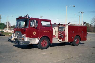 ENGINE 44  1974 MACK CF600  1500 - 500