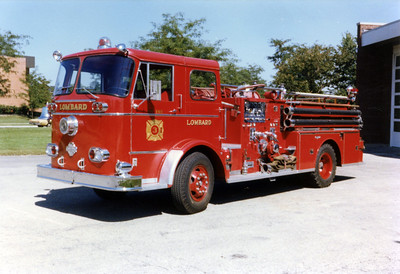 LOMBARD  ENGINE 43  SEAGRAVE  KB