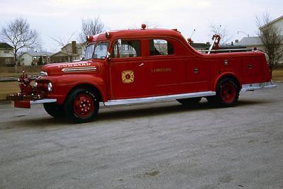 LOMBARD FD  SQUAD 41  X-CHICAGO PATROL RIG