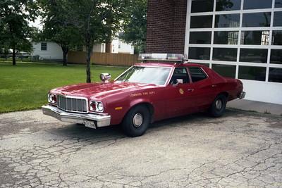 CAR F1  1976 FORD GRAN TORINO  FIRE CHIEF