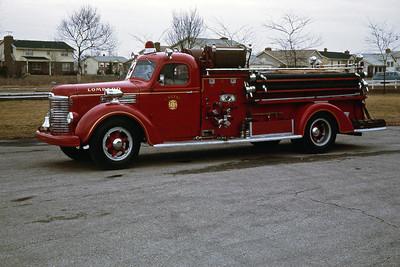 ENGINE 41  1948 IHC KB5 - BOYER 500-400