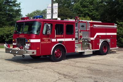 ENGINE 44  1994 E-ONE CYCLONE  1500 - 750