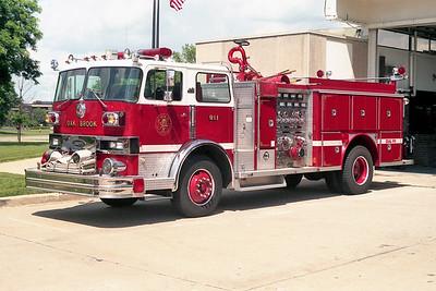 OAK BROOK  ENGINE 911  HENDRICKSON - E-ONE