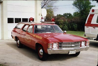 OAK BROOK TERRACE FPD FIRE PREVENTION CAR