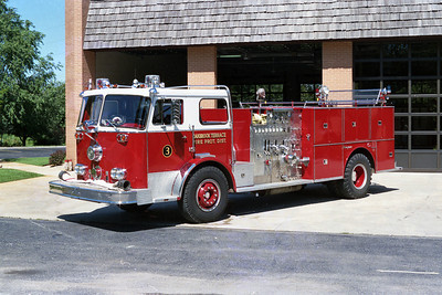 OAKBROOK TERRACE FPD ENGINE 303  SEAGRAVE