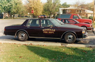 ROSELLE FPD  CAR 22  1988  CHEVY ICAPRICE