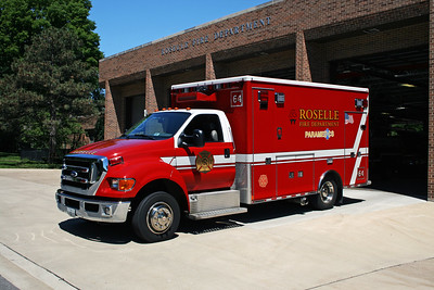 ROSELLE FPD  AMB 533  2010  FORD F-650 -2012  MEDTEC   # 9288