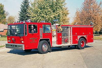 ROSELLE FPD  ENGINE R-3  1982  HENDRICKSON - 1994  E-ONE   REHAB