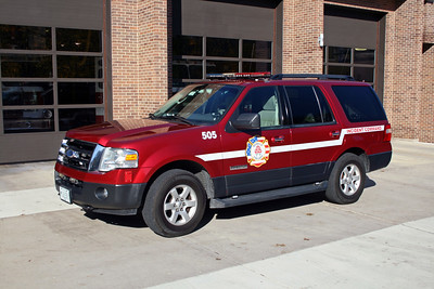 ROSELLE FPD  CAR 505  2006  FORD EXPEDITION     SHIFT COMMANDER