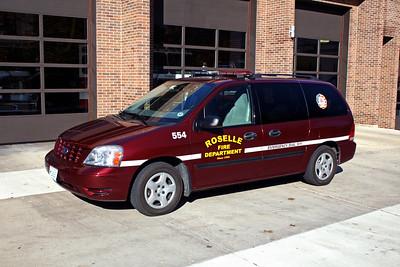 ROSELLE FPD   CAR 554  2006  FORD FREESTAR