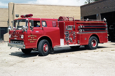 ROSELLE FPD  ENGINE R-3  1967  FORD C850 - HOWE   1000-875