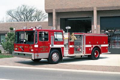 ROSELLE FPD  ENGINE R-3  1982  HENDRICKSON - 1994  E-ONE   REHAB STRIPE