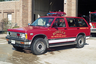 ROSELLE FPD  CAR R-21  1992  CHEVY BLAZER 4X4