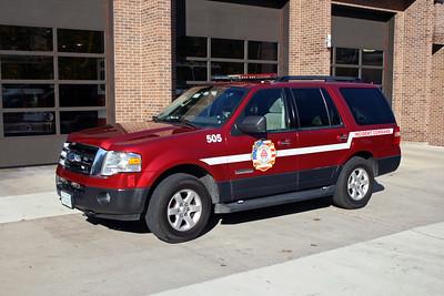 ROSELLE FD  CAR 505 SHIFT COMMANDER
