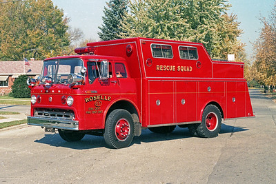 ROSELLE FPD  SQUAD R-7  1969  FORD C - WELCH