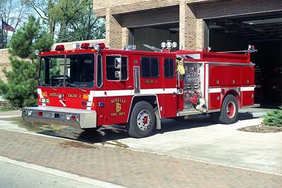 ROSELLE FPD  ENGINE R-2  1982  HENDRICKSON 1871 - E-ONE - 1994  RPI REHAB   1500-750   # 2700