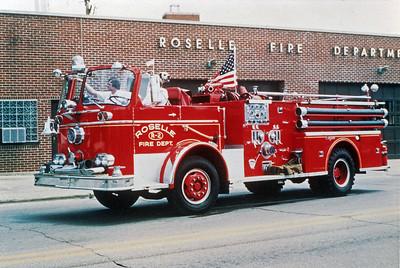ROSELLE FPD  ENGINE R-2  1966  SEAGRAVE KB   1000-500   # Q-3645