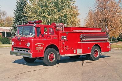 ROSELLE FPD  TANKER R-5  1965  FORD C800 - BOYER   250-1000