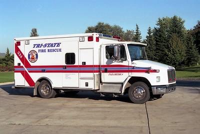 TRI-STATE AMBULANCE 534  FREIGHTLINER FL60 - ROAD RESCUE