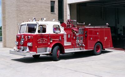 VILLA PARK FD   ENGINE 965   1975 PIRSCH   1000-500   # 3107