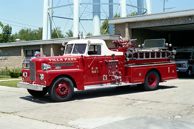 VILLA PARK FD  ENGINE 961  1957 PIRSCH   750-500