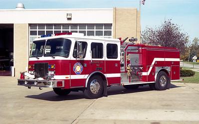 VILLA PARK FD   ENGINE 962  1995 E-ONE CYCLONE   1500-750
