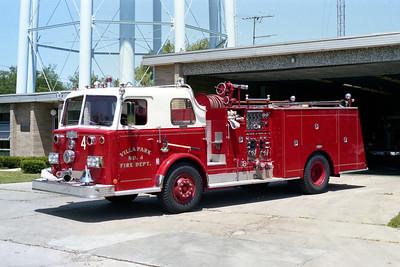 VILLA PARK FD  ENGINE 964   1972 PIRSCH  1000-500   # 3008
