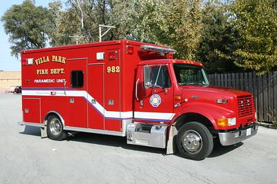 VILLA PARK FD  MEDIC 982  1998  IHC 4700 - MEDTEC