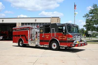 VILLA PARK FD  ENGINE 81  2015  PIERCE IMPEL   1500-750    #28460