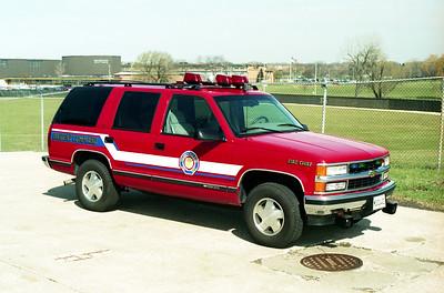 VILLA PARK FD  CAR 951  1996 CHEVY TAHOE