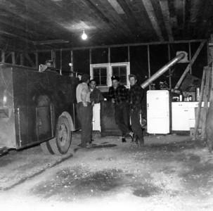 VILLARD VFD  1954  INSIDE ORIGINAL STATION