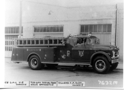 VILLARD FPD  ENGINE  1958 GMC - HOWE