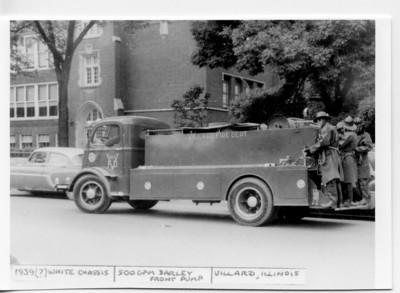 VILLARD FPD ENGINE  1939 WHITE