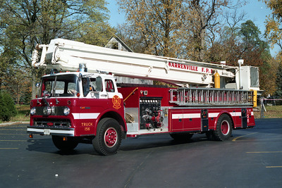 TRUCK 157  FORD C - SNORKEL AFTER REHAB