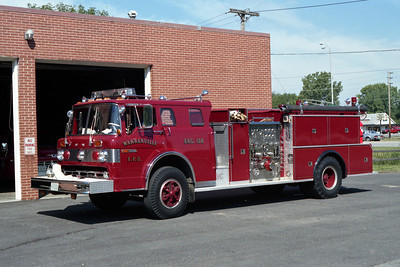 ENGINE 158  FORD - FMC AT STATION 2  RED