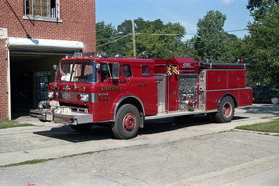 ENGINE 157  FORD C - FMC